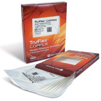 TruFlex Copper Arc  Ni-Ti Universal form  Rotund (27 grade) cu Stop impachetate individual