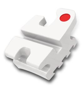 Brackets OrthoFlex – bracket din compozit  (Roth 022″, 0.18″, MBT 022″, 0.18″, 3HKS, 345HKS, set 20 buc)