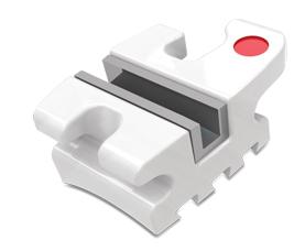 Avalon Bracket System – bracket din compozit cu slot metalic (Roth 022″, 0.18″, MBT 022″, 0.18″, 3HKS, 345HKS, set 20 buc)