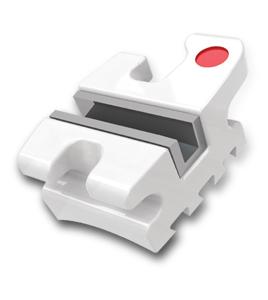 Encore Bracket System  – bracket ceramic cu slot metalic (Roth 022″, 0.18″, MBT 022″, 0.18″, 3HKS, 345HKS, set 20 buc)