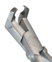 Cleste ortodontice sub unghi pentru  îndepartarea bracketilor